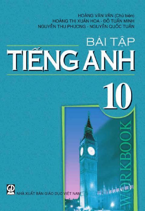 Bài tập Tiếng Anh 10