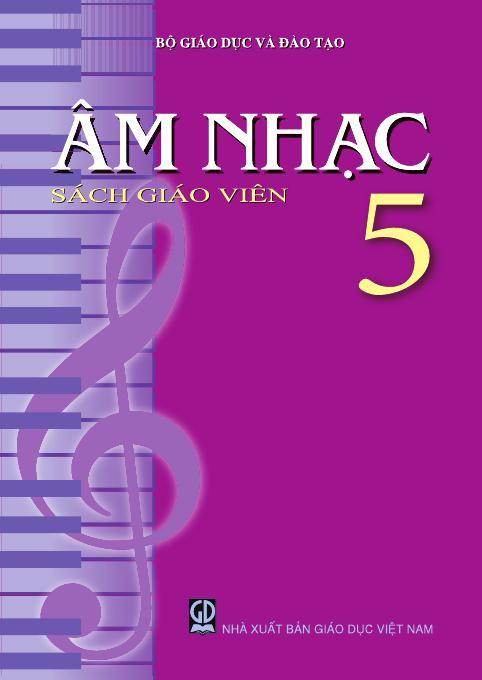 Âm nhạc 5 - Sách Giáo Viên
