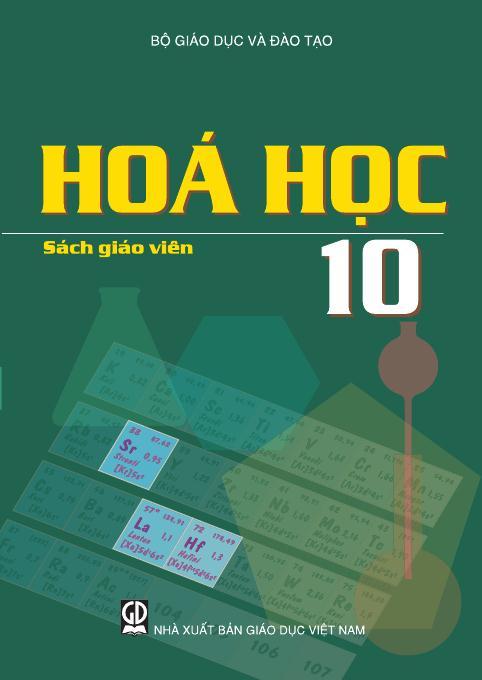 Hóa học 10 - Sách Giáo Viên