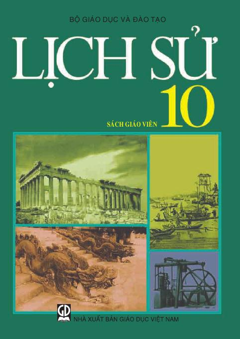 Lịch sử 10  - Sách Giáo Viên