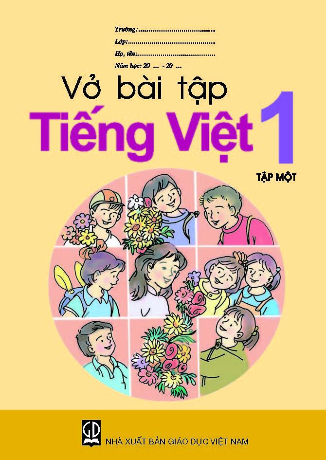Vở bài tập Tiếng Việt lớp 1, tập 1