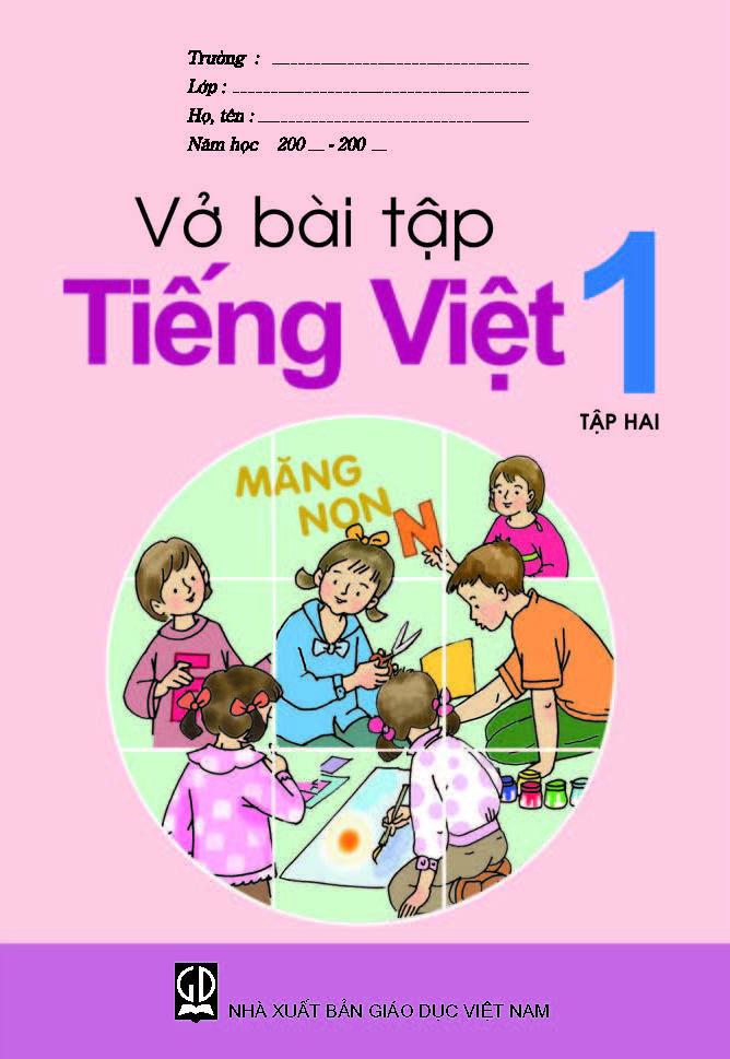 Vở bài tập Tiếng Việt  lớp 1, tập 2