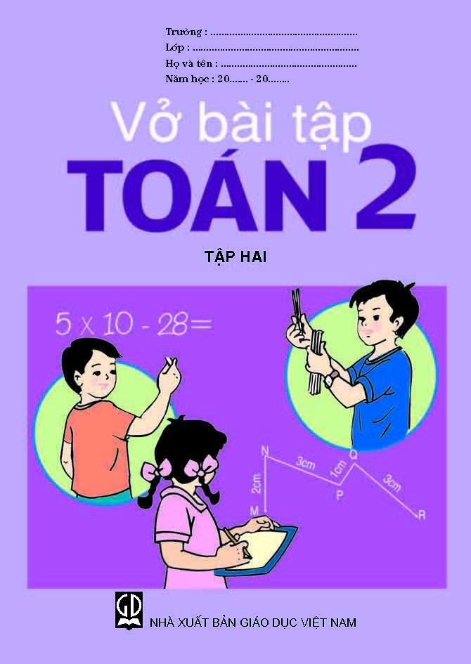 Vở bài tập Toán 2, tập 2