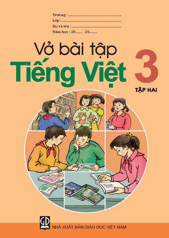Vở bài tập Tiếng Việt 3, tập 2