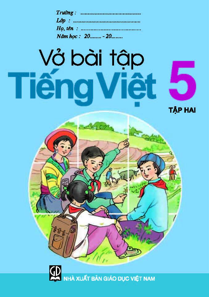Vở bài tập Tiếng Việt 5, tập 2